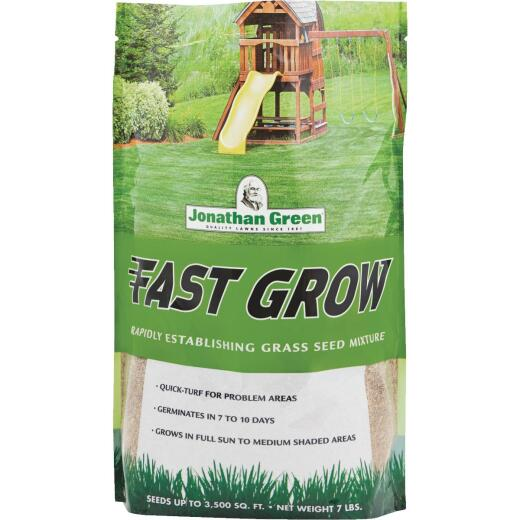 Jonathan Green Fast Grow 7 Lb. 1750 Sq. Ft. Coverage Ryegrass & Fescue Grass Seed