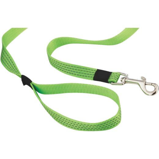 Westminster Pet Ruffin' it Reflective 4 Ft. High Visibility Dog Leash