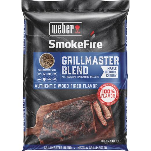 Weber SmokeFire 20 Lb. Competition Blend Wood Pellet